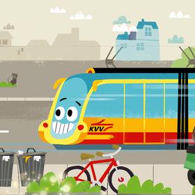 KVV.kids App: Geschichten mit Pauly
