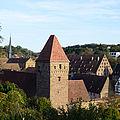 Blick auf das Kloster Maulbronn an einem schönen Tag.