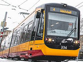 Abbildung einer Straßenbahn