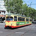 Tramführungen Karlsruhe quer